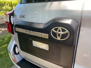 2015 Toyota Landcruiser VDJ200R GX Silver 6 Speed Sports Automatic Wagon