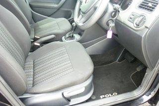 2016 Volkswagen Polo 6R MY16 66 TSI Trendline Black 7 Speed Auto Direct Shift Hatchback