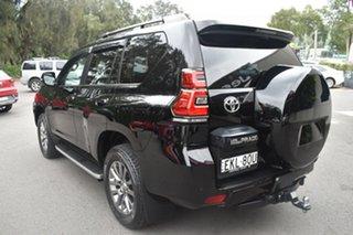 2018 Toyota Landcruiser Prado GDJ150R Kakadu Black 6 Speed Sports Automatic Wagon