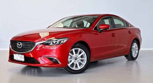 Used Mazda 6 GJ1032 Touring SKYACTIV-Drive Thomastown, 2016 Mazda 6 GJ1032 Touring SKYACTIV-Drive Red 6 Speed Sports Automatic Sedan