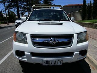 2010 Holden Colorado RC MY11 LX (4x4) White 5 Speed Manual Cab Chassis.