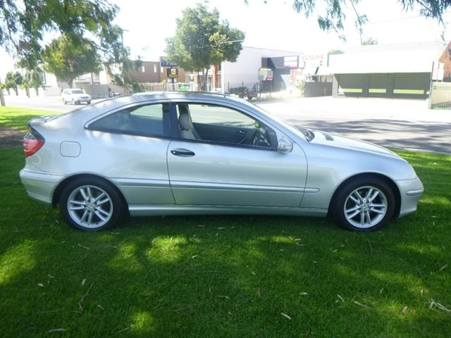 Used Mercedes-Benz C-Class CL203 C230 Kompressor Sports Beverley, 2002 Mercedes-Benz C-Class CL203 C230 Kompressor Sports Silver Automatic Coupe