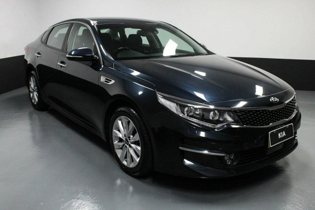 Used Kia Optima JF MY17 SI Cardiff, 2017 Kia Optima JF MY17 SI Caspian Blue 6 Speed Sports Automatic Sedan