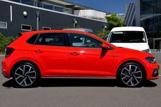 2020 Volkswagen Polo AW MY21 GTI DSG Red 6 Speed Sports Automatic Dual Clutch Hatchback.