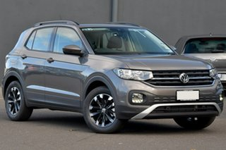 2020 Volkswagen T-Cross C1 MY21 85TSI DSG FWD Life Grey 7 Speed Sports Automatic Dual Clutch Wagon.