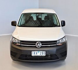 2017 Volkswagen Caddy 2KN MY18 TDI250 Crewvan Maxi DSG White 6 Speed Sports Automatic Dual Clutch.