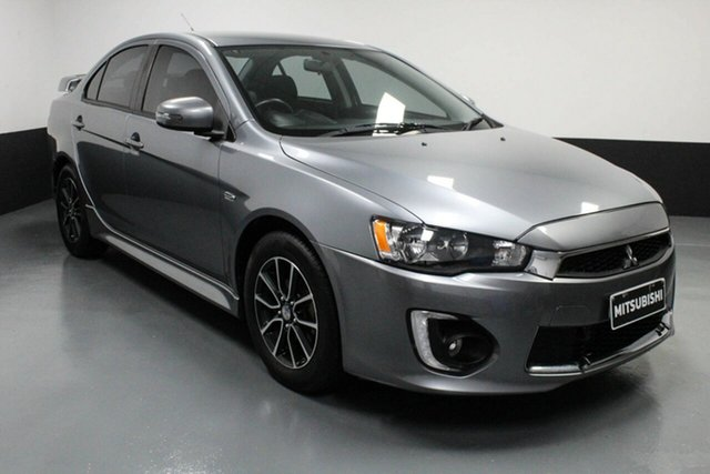 Used Mitsubishi Lancer CF MY16 ES Sport Hamilton, 2016 Mitsubishi Lancer CF MY16 ES Sport Gunmetal 5 Speed Manual Sedan
