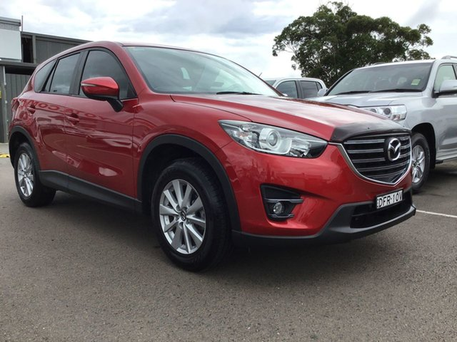 Pre-Owned Mazda CX-5 KE1032 Maxx SKYACTIV-Drive AWD Sport Cardiff, 2016 Mazda CX-5 KE1032 Maxx SKYACTIV-Drive AWD Sport Red 6 Speed Sports Automatic Wagon