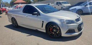 2015 Holden Special Vehicles Maloo Gen-F MY15 R8 Silver 6 Speed Manual Utility.
