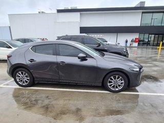 2020 Mazda 3 BP2H7A G20 SKYACTIV-Drive Pure Machine Grey 6 Speed Sports Automatic Hatchback