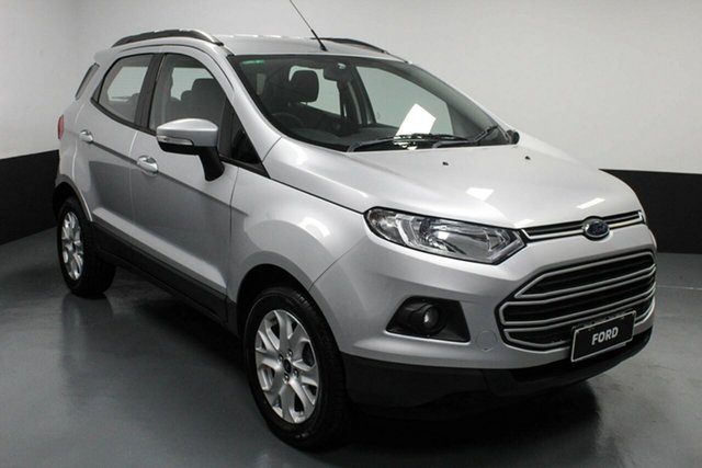 Used Ford Ecosport BK Trend Hamilton, 2016 Ford Ecosport BK Trend Silver 5 Speed Manual Wagon