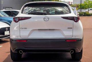 2020 Mazda CX-30 DM2WLA G25 SKYACTIV-Drive Astina White 6 Speed Sports Automatic Wagon.