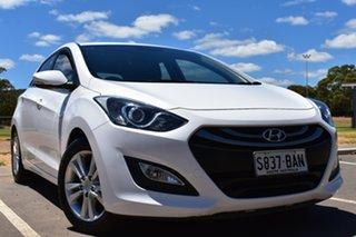 2013 Hyundai i30 GD Elite White 6 Speed Sports Automatic Hatchback.