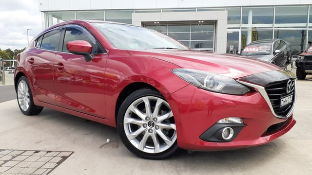 Used Mazda 3 BM5438 SP25 SKYACTIV-Drive GT Liverpool, 2016 Mazda 3 BM5438 SP25 SKYACTIV-Drive GT Soul Red 6 Speed Sports Automatic Hatchback