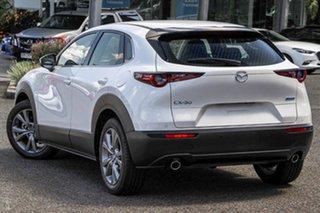 2020 Mazda CX-30 DM2W7A G20 SKYACTIV-Drive Touring White 6 Speed Sports Automatic Wagon