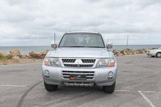 2005 Mitsubishi Pajero NP MY05 Platinum Edition Silver 5 Speed Sports Automatic Wagon