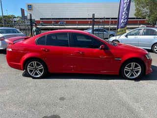 2008 Holden Commodore VE MY08 SV6 Red 5 Speed Automatic Sedan.