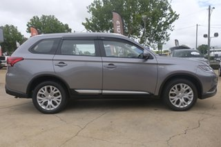 2019 Mitsubishi Outlander ZL MY20 ES AWD Grey 6 Speed Constant Variable Wagon.