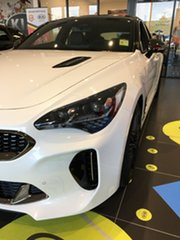 2020 Kia Stinger CK MY20 GT Fastback Snow White Pearl 8 Speed Sports Automatic Sedan.