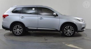 2017 Mitsubishi Outlander ZK MY17 LS (4x4) Silver Continuous Variable Wagon