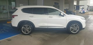 2019 Hyundai Santa Fe TM MY19 Highlander White Cream 8 Speed Sports Automatic Wagon.