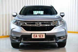 2017 Honda CR-V MY18 VTi-S (2WD) Silver Continuous Variable Wagon.