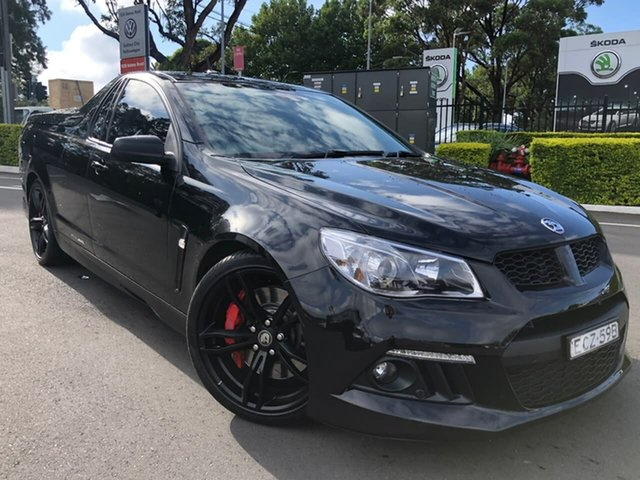 Used Holden Special Vehicles Maloo Gen-F MY15 R8 Botany, 2015 Holden Special Vehicles Maloo Gen-F MY15 R8 Black 6 Speed Sports Automatic Utility
