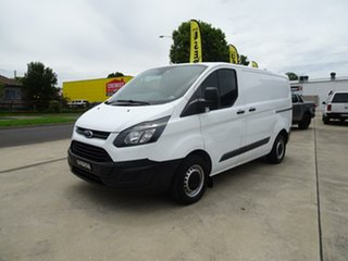 2015 Ford Transit Custom VN 290S Low Roof SWB Frozen White 6 Speed Manual Van.