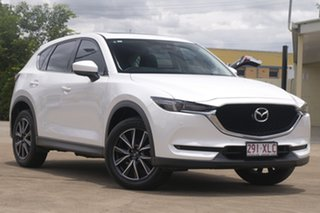 2017 Mazda CX-5 KF4WLA GT SKYACTIV-Drive i-ACTIV AWD White 6 Speed Sports Automatic Wagon.