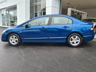 2010 Honda Civic VTI Blue Manual Sedan