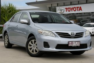 2013 Toyota Corolla ZRE152R Ascent Shimmer 4 Speed Automatic Sedan.