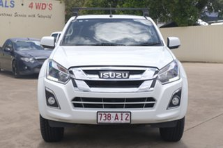 2017 Isuzu D-MAX MY17 LS-M Crew Cab White 6 Speed Manual Utility