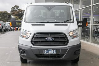 2015 Ford Transit VO 470E White 6 Speed Manual Single Cab Cab Chassis.
