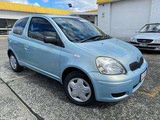 2004 Toyota Echo NCP10R MY03 Blue 4 Speed Automatic Hatchback.