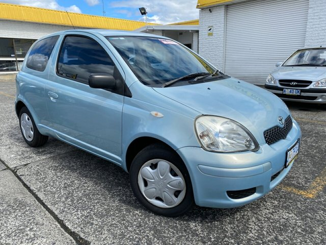 Used Toyota Echo NCP10R MY03 Derwent Park, 2004 Toyota Echo NCP10R MY03 Blue 4 Speed Automatic Hatchback