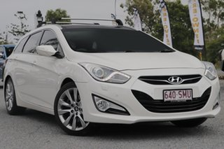 2011 Hyundai i40 VF Premium Tourer White 6 Speed Sports Automatic Wagon.