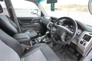 2005 Mitsubishi Pajero NP MY05 Platinum Edition Silver 5 Speed Sports Automatic Wagon.