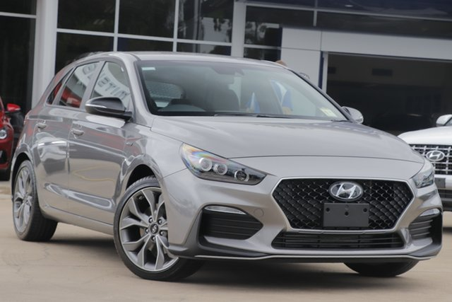 New Hyundai i30 PD.V4 MY21 N Line D-CT Beaudesert, 2020 Hyundai i30 PD.V4 MY21 N Line D-CT Fluidic Metal 7 Speed Sports Automatic Dual Clutch Hatchback
