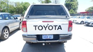 2015 Toyota Hilux GUN126R SR Double Cab White 6 Speed Manual Utility