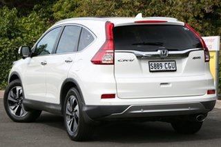 2015 Honda CR-V RM Series II MY16 VTi-L 4WD White Orchid 5 Speed Sports Automatic Wagon.