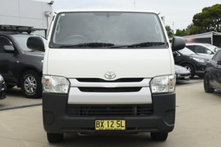 2015 Toyota HiAce KDH201R MY14 LWB White 4 Speed Automatic Van