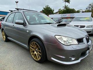 2007 Subaru Impreza S MY07 WRX AWD Silver 5 Speed Manual Hatchback.