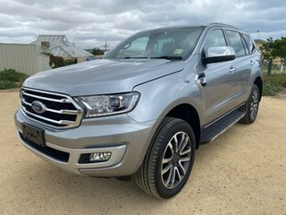 2019 Ford Everest UA II 2019.75MY Titanium Silver 10 Speed Sports Automatic SUV