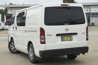 2015 Toyota HiAce KDH201R MY14 LWB White 4 Speed Automatic Van.