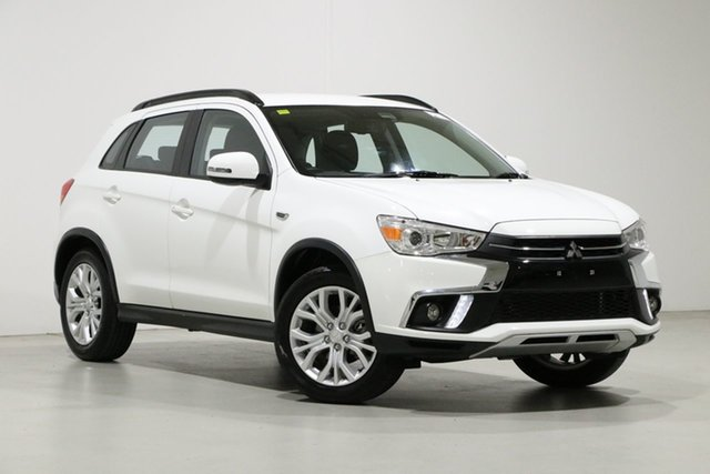Used Mitsubishi ASX XC MY19 ES ADAS ( 2WD) Bentley, 2018 Mitsubishi ASX XC MY19 ES ADAS ( 2WD) White Continuous Variable Wagon