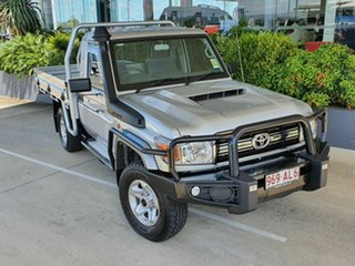 2020 Toyota Landcruiser GXL Silver 5 Speed Manual Utility