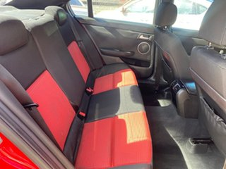 2008 Holden Commodore VE MY08 SV6 Red 5 Speed Automatic Sedan