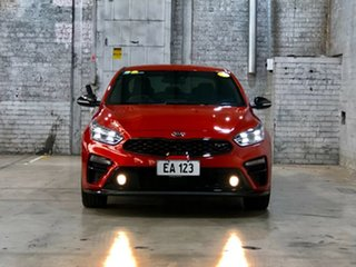 2019 Kia Cerato BD MY19 GT DCT Orange 7 Speed Sports Automatic Dual Clutch Sedan.