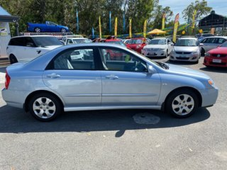 2006 Kia Cerato LD Blue 4 Speed Automatic Sedan.