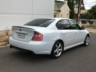 2006 Subaru Liberty B4 MY06 2.0R AWD White Pearl 5 Speed Manual Sedan.
